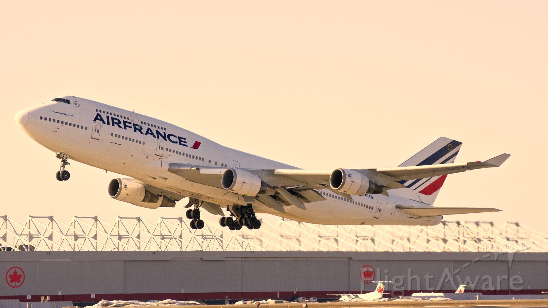 Boeing 747-400 (F-GITE) - 747-400