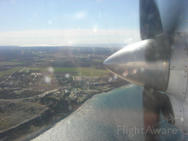 — — - Gotland on approach