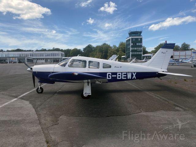 Piper Cherokee Arrow (G-BEWX) - 20 JUL 2020