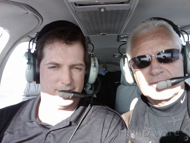 Beechcraft 55 Baron (N1832W) - Steve and David on their way to Salt Lake City, crossing the Rockies!