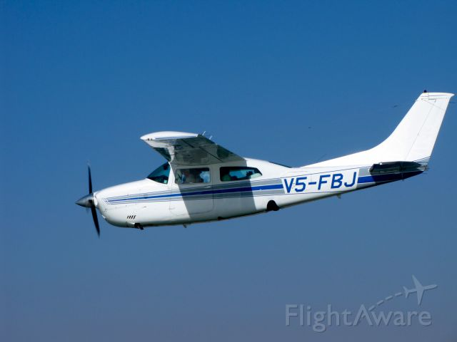 Cessna Centurion (V5-FBJ) - We were in a group of three planes flying over the Namib Desert and the Skeleton Coast, Namibia