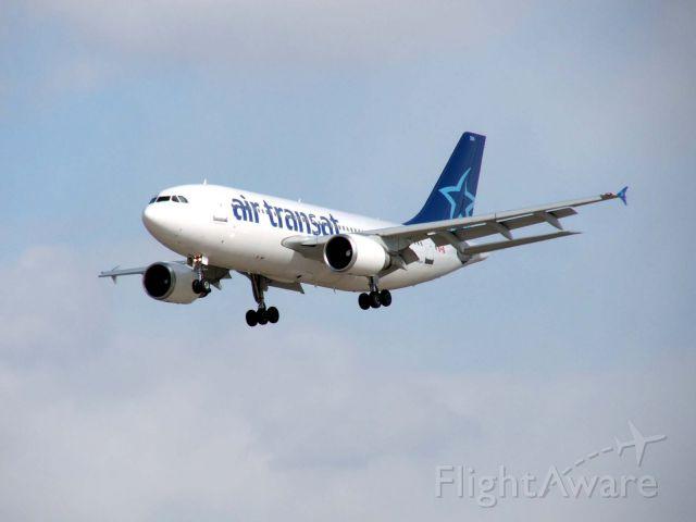 Airbus A310 (C-GSAT) - Heading for 15L CYYZ