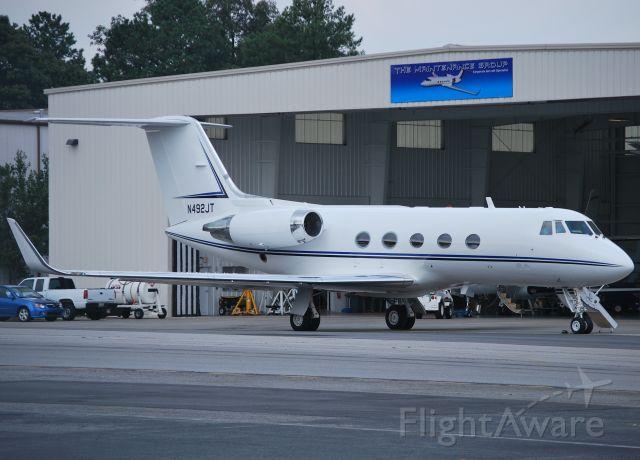 Gulfstream American Gulfstream 2 (N492JT) - CONSTELLATION PRODUCTIONS INC  (John Travolta) at KPDK - 8/3/10