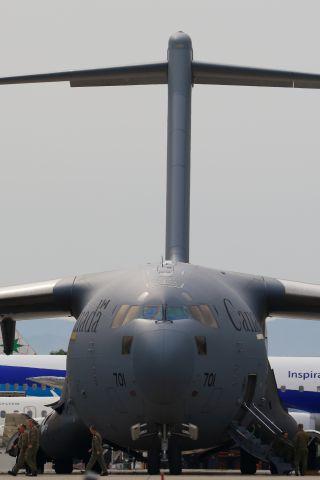 Boeing Globemaster III (17-7701) - Canadian Armed Forces / Boeing C-17 GlobemasterIII(177701)br /6.JUNE.2015 HKODATE