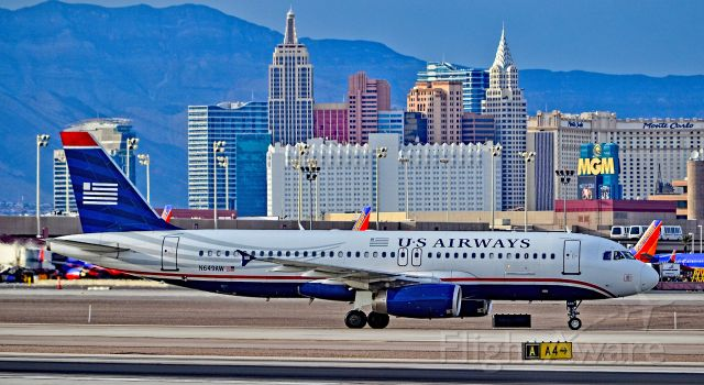 Airbus A320 (N649AW) - N649AW American Airlines 1998 Airbus A320-232 - cn 803 - US Airwaysbr /br /Las Vegas - McCarran International (LAS / KLAS)br /USA - Nevada, December 5, 2015br /Photo: Tomás Del Coro