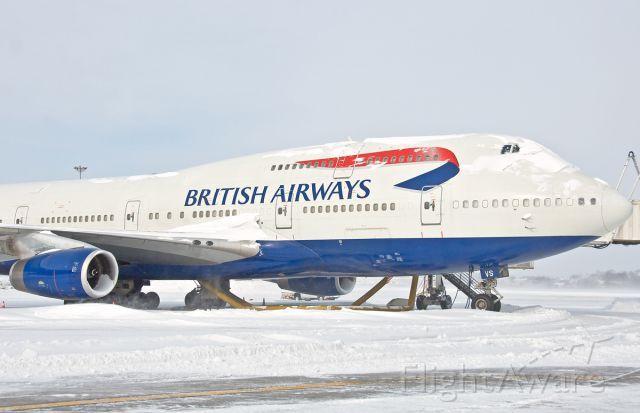 Boeing 747-400 (G-CIVS) - Snowbird