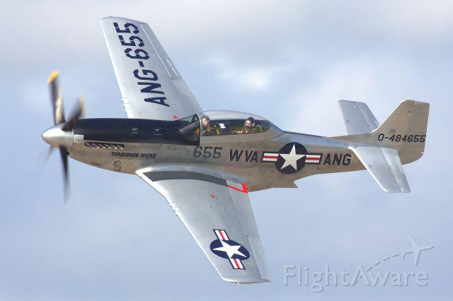 North American P-51 Mustang (N551CF)