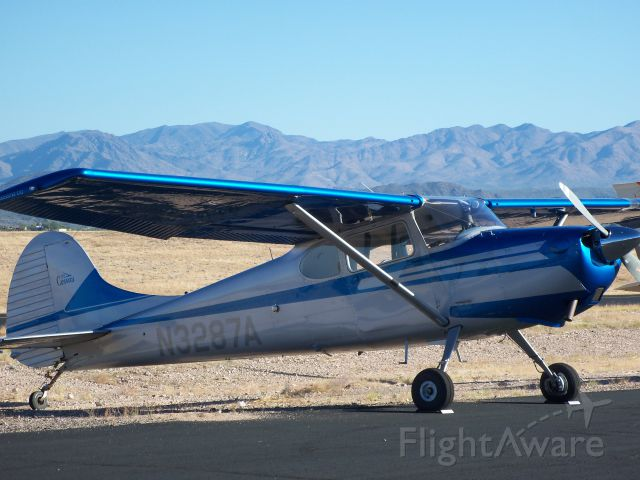 Cessna 170 (N3287A) - At a Fly-in