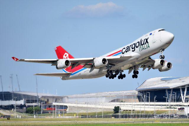 Boeing 747-400 (LX-SCV) - 23-R 07-17-20 headed to JFK