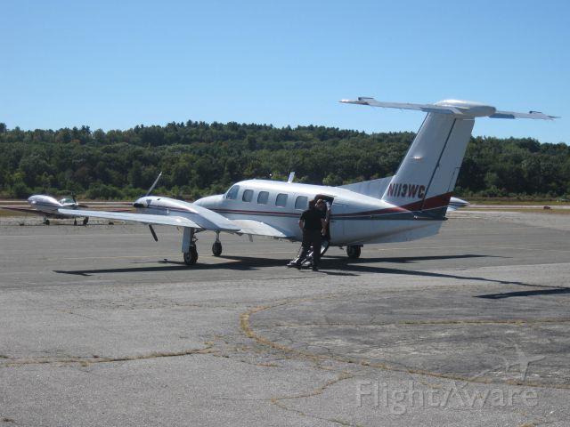 Piper Cheyenne 3 (N113WC) - Unloading after arriving from Trenton, NJ (KTTN).