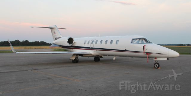 Learjet 45 (N317GS) - A Learjet 45 on the ramp at dusk at Pryor Regional Airport, Decatur, AL - June 19, 2019.