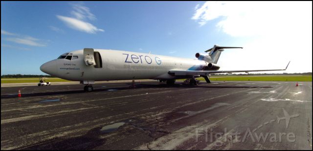 BOEING 727-200 (N794AJ) - Diverted to VRB after showing a light for fire in number 3.