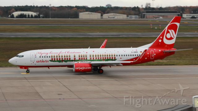 Boeing 737-800 (D-ABMS) - Weihnachtsflieger 2013