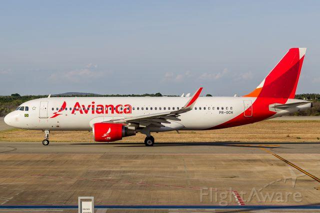 Airbus A320 (PR-OCH) - VOO: PETROLINA - SALVADOR