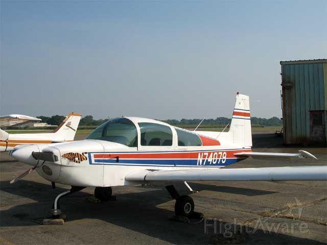 N74079 — - Grumman Tiger picture taken at KBDR