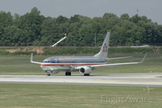 Boeing 737-800 (N889NN) - July 11, 2014, only day in CLT. I think its a beautiful plane.