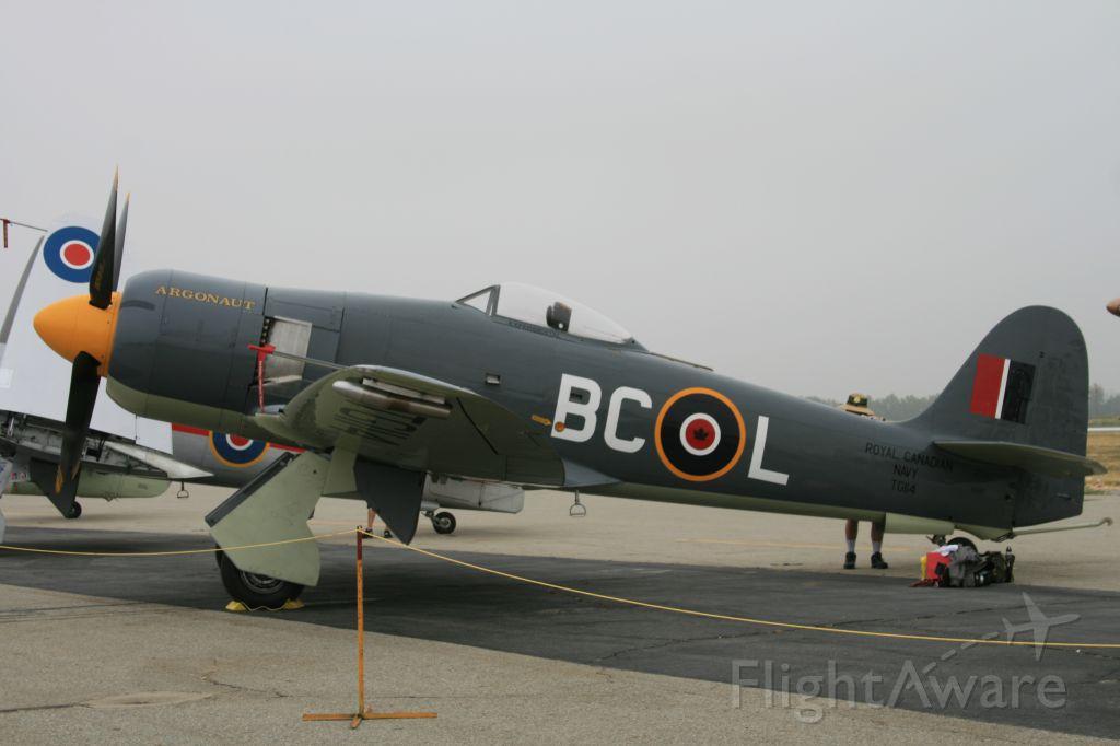 — — - Hawker Sea Fury, Planes of Fame, Chino
