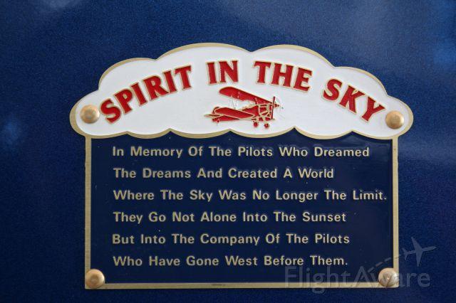 Piper Cherokee (N63BA) - Spirit In The Sky - Lindy Award Winner @ Oshkosh 2010