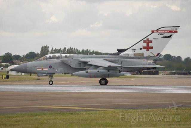 — — - July 18th, 2011. ZA600 Tornado GR.4 95th Anniversary Scheme. Scrapped at RAF Leeming , 2018.