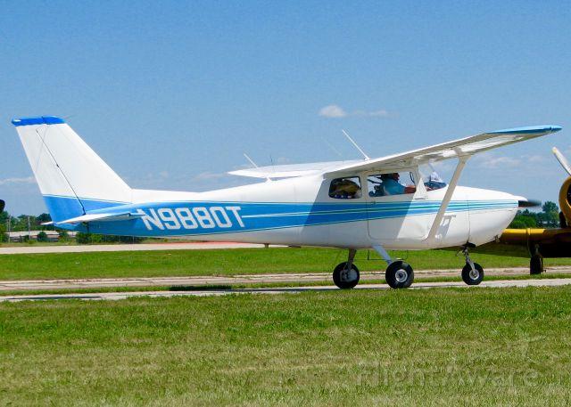 Cessna Skyhawk (N9880T) - At Oshkosh. 1960 Cessna 172A Skyhawk