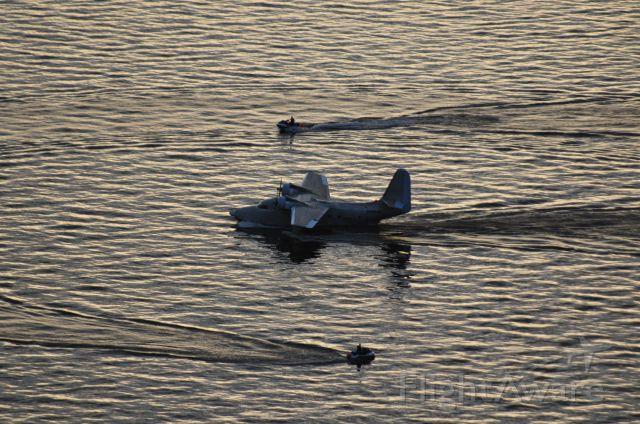 Grumman HU-16 Albatross (N1954Z) - Lake Conroe