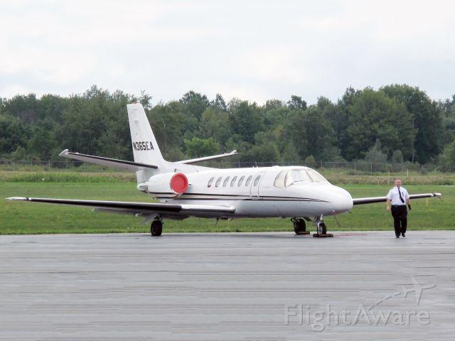 Cessna Citation V (N365EA) - Captain Mike S. Bullard.