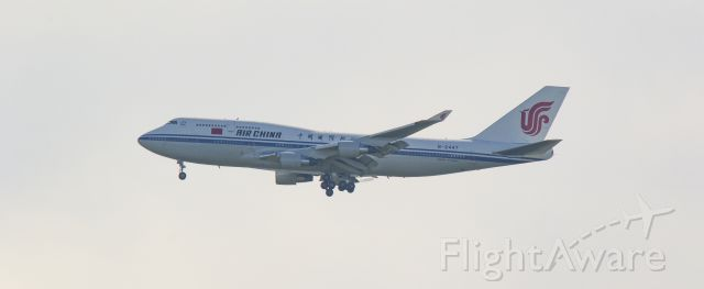 Boeing 747-200 (B-2447) - A delegation from the Chinese government to visit Stavanger Norway. pic 1. 17.05.2019