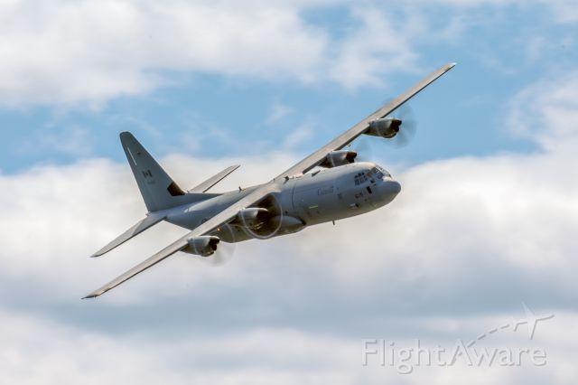 13-0615 — - CC-130J Hercules during training flight over Trenton, Ontario, Canada