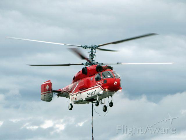 KAMOV Ka-32 (C-FMKV) - C-FMKV, a VIH Kamov 32 (ex Heli-Swiss) during a heavy lift operation. Poste-Montagnais, Québec - June 2014