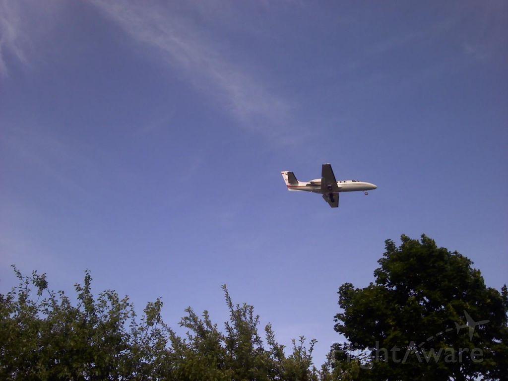 Cessna Citation CJ1 (N501GB) - 5/17/2012 ~6:20pm