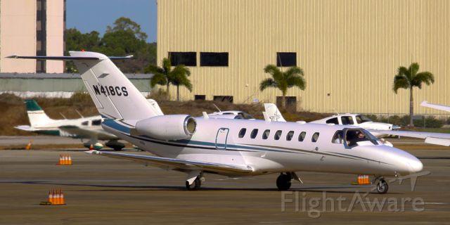 Cessna Citation CJ3 (N418CS) - Coming into Retrix in Sarasota