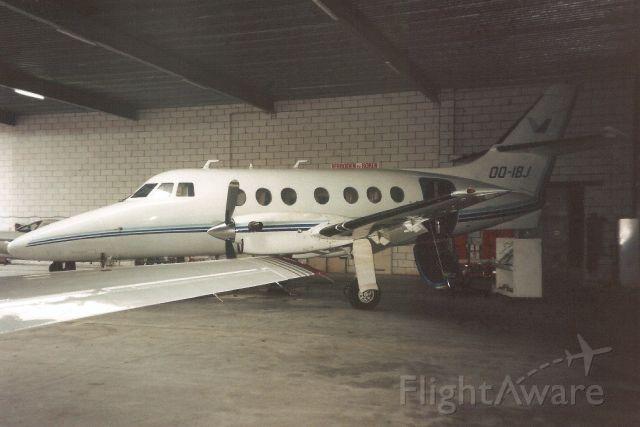 JETSTREAM Jetstream 1 (OO-IBJ) - Seen here on 10-Feb-94.br /br /Registration cancelled 23-Oct-97.br /Broken up at EBAW.