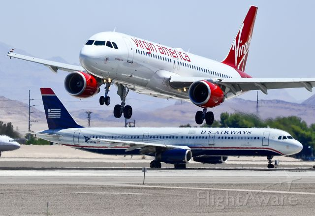 "Airbus A320 (N847VA) - N847VA Virgin America Airbus, A320-214 (cn: 4948) ""scarlett o"