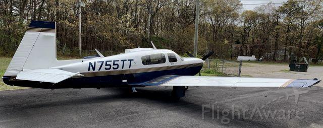 Mooney M-20 Turbo (N755TT) - Nice Mooney
