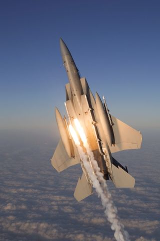 McDonnell Douglas F-15 Eagle — - Huge credit got my cousins dad for making this possible!