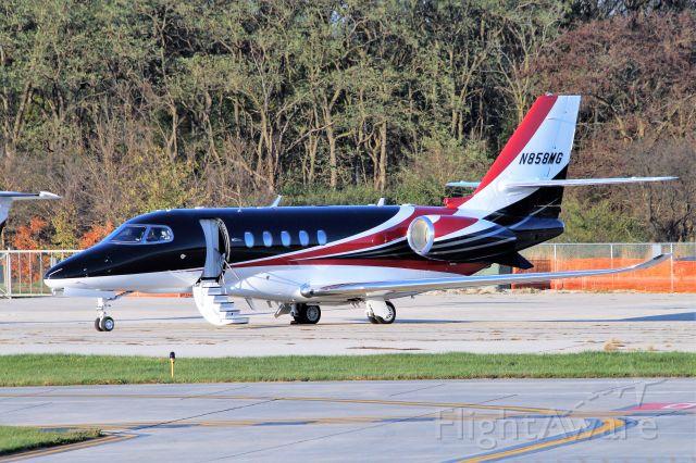 Cessna Citation Latitude (N858MG)