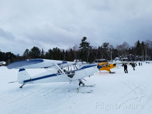 Piper PA-12 Super Cruiser (N61465) - At The Birches Resort on Moosehead Lake, Maine -- a great place to stay at any time of year.