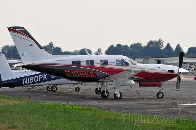 Piper Malibu Meridian (N108KK) - Seen at KFDK on 8/6/2010.      http://discussions.flightaware.com/profile.php?mode=viewprofile&u=269247
