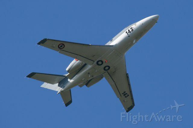 Dassault Falcon 10 (FNY143) - French Naval Aviation Falcon 10 MER, Landivisiau Naval Air Base (LFRJ)