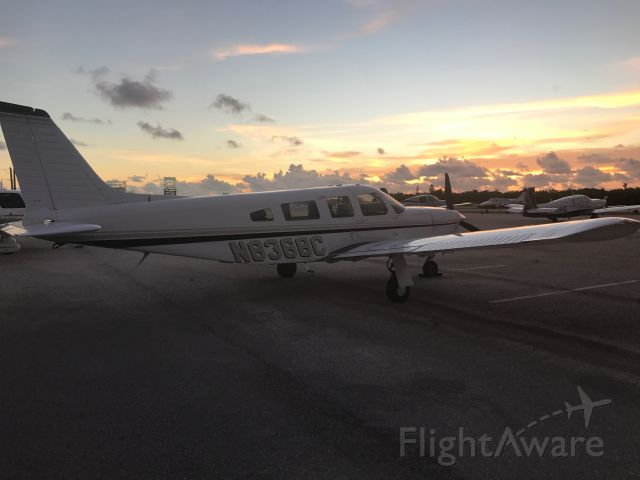 Piper Saratoga/Lance (N8368C) - Marathon, The Florida Keys.