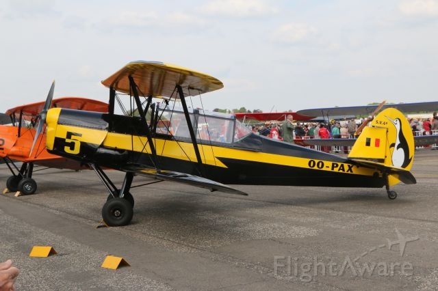 STAMPE SV-4 (OO-PAX) - Stampe fly-in 17-4-2015
