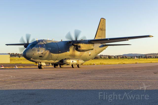 ALENIA Spartan (C-27J) (A34010) - Royal Australian Air Force (A34-010) Alenia C-27J Spartan taxiing at Wagga Wagga Airport