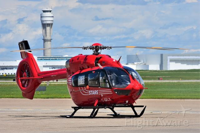 KAWASAKI EC-145 (C-GKLY) - Stars Aviation Airbus Helicopters H145 at YYC on June 9.