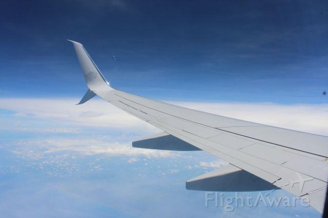 Boeing 737-700 (XA-AMA) - bound to mexico city