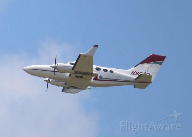 Cessna Chancellor (N90TR) - At Shreveport Regional.