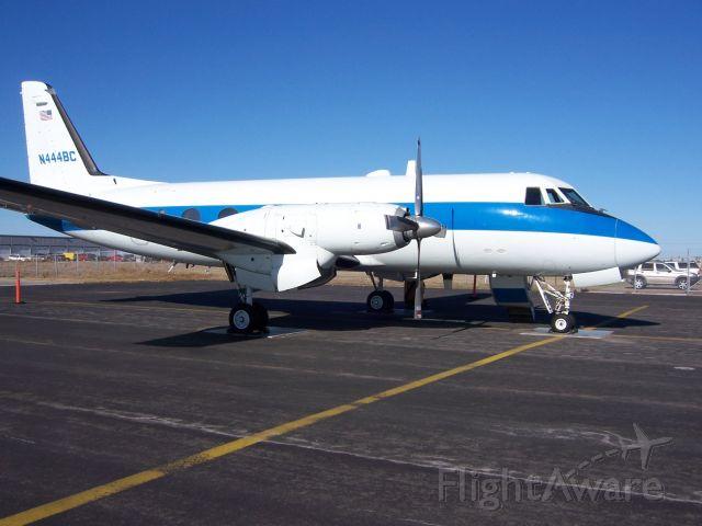 Grumman Gulfstream 1 (N444BC) - At home base in KCRP