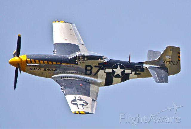 "North American P-51 Mustang (N51JB) - ""BALD EAGLE"""