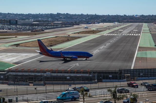 N200WN — - One taking off and one waiting to take off.