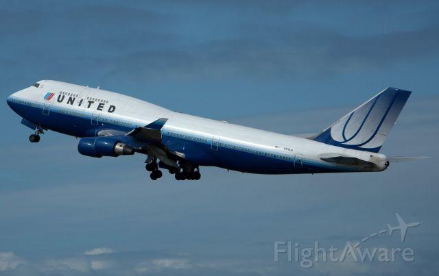 Boeing 747-400 (N179UA) - 11 OCT 2010