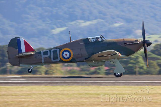 VH-JFW — - Hawker Hurricane